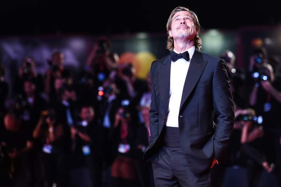 Acclamé par le public, Brad Pitt savoure son succès