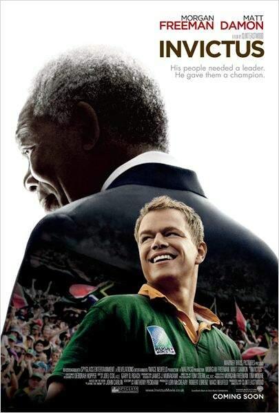 Invictus de Clint Eastwood en 2010