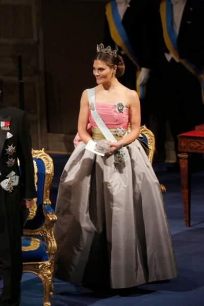 Victoria de Suède est apparue dans une magnifique robe