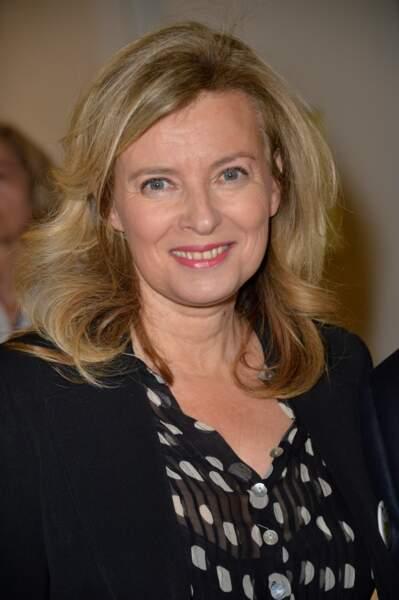 Valérie Trierweiler au lancement de la campagne des Pères Noël verts