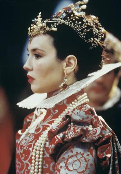 """Isabelle Adjani dans """"La Reine Margot"""" en 1994"""