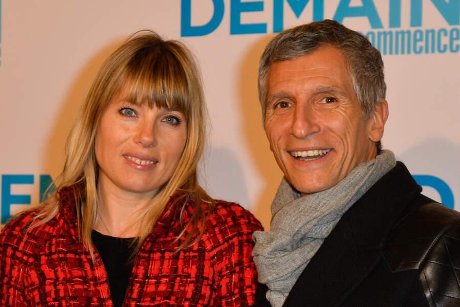 Nagui et sa femme Mélanie Page