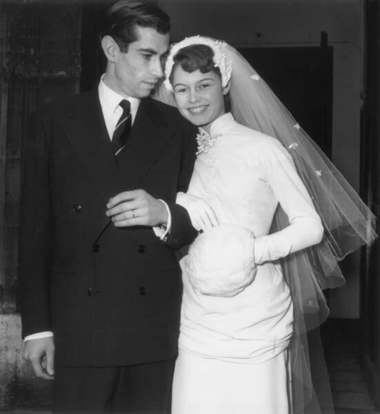 Mariage de Brigitte Bardot et Roger Vadim 20 decembre 1952