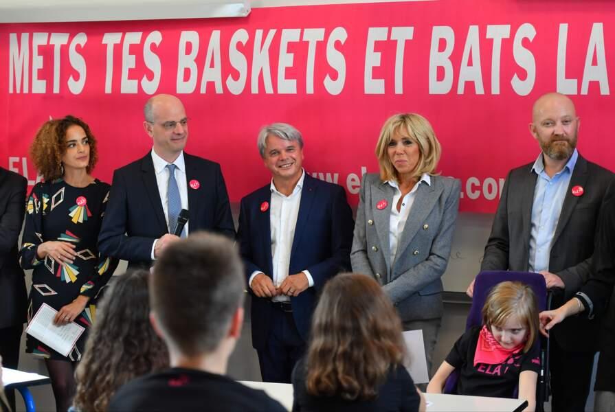 Brigitte Macron s'engage pour les enfants handicapés et soutient l'association ELA