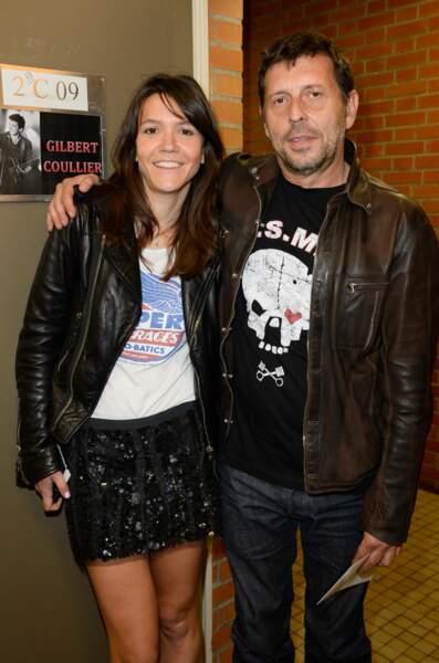 Hortense d'Esteve et son compagnon le réalisateur Pascal Duchene.