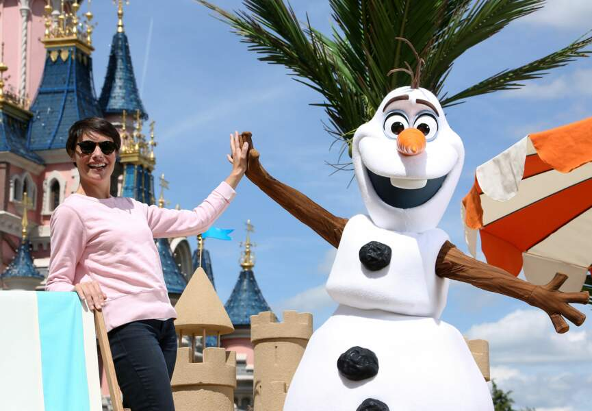 Alessandra Sublet et Olaf