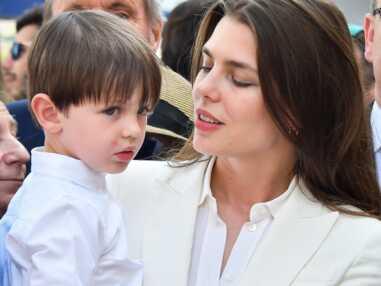 Charlotte Casiraghi et son fils Raphaël au Prix de Monaco