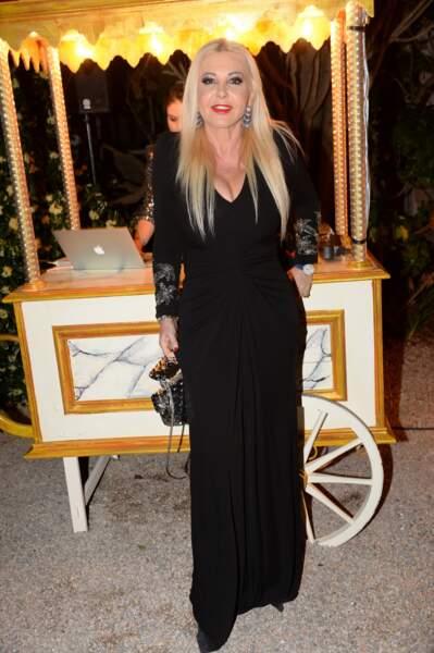 Monika Bacardi à la soirée du 25ème anniversaire de De Grisogono