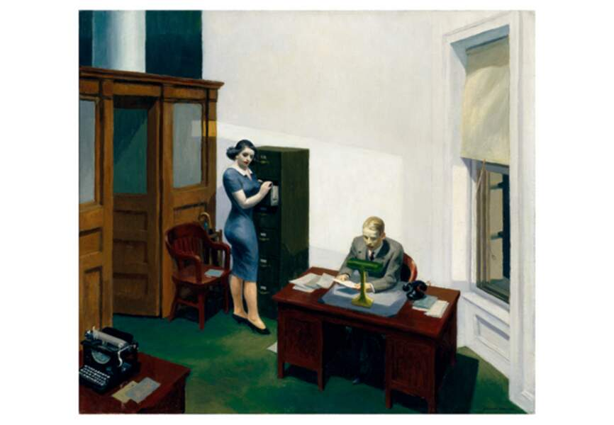 Office at Night, 1940
