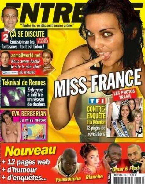 Enorme scandale ! A cause de ces images, Valérie Bègue n'est pas passée loin de la destitution en 2007.