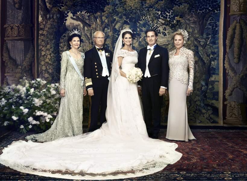 Mariage de la princesse Madeleine de Suède avec Chris O'Neill, en 2013
