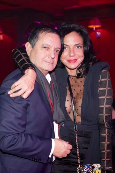 Le joaillier Edouard Nahum et Sandra Zeitoun de Matteis (ambassadrice Ungaro et Zanotti)