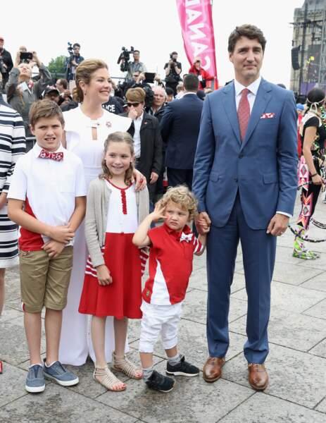 Hadrien Trudeau aurait-il piqué le vernis à ongles de sa grande sœur Ella-Grace Margaret ?