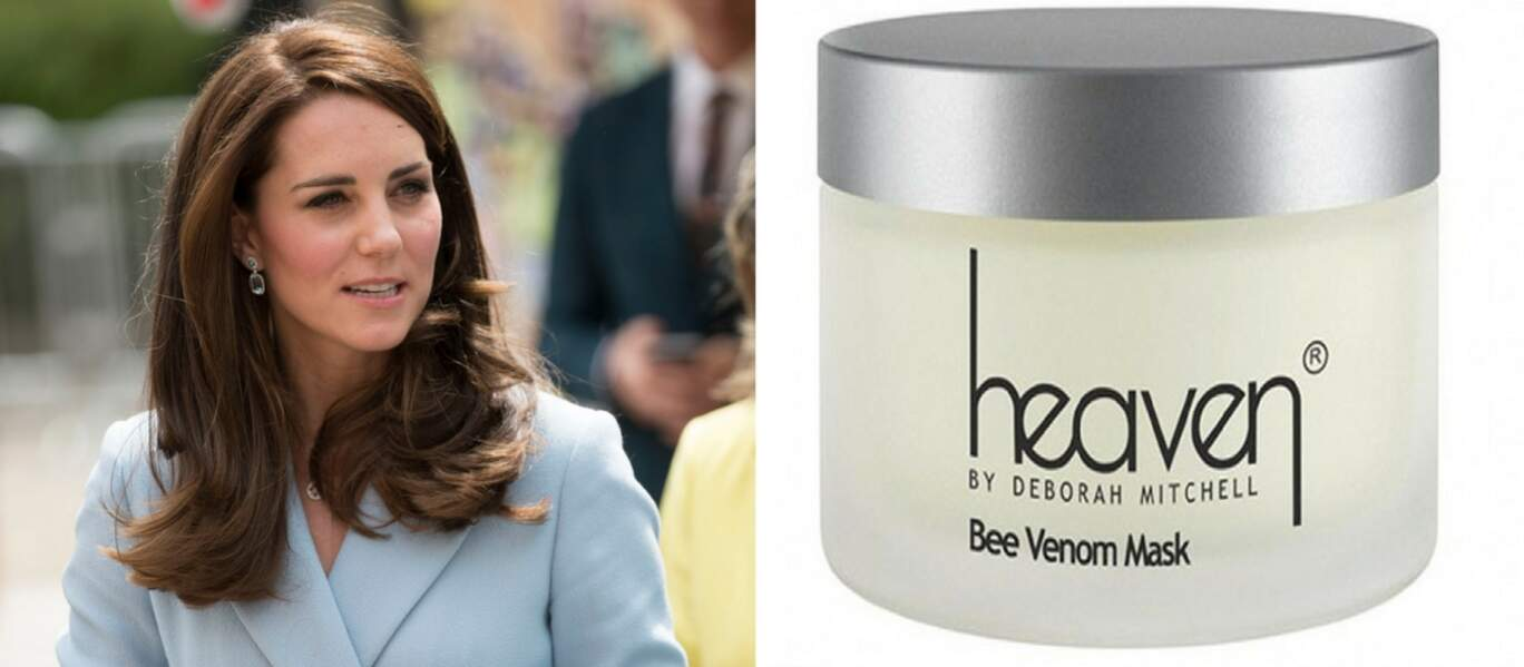 Kate Middleton fan du soin aux venin d'abeille