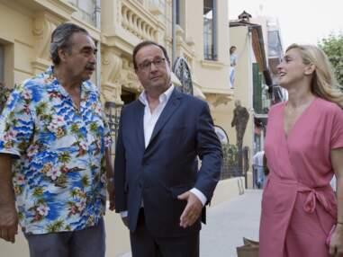 PHOTOS – François Hollande et Julie Gayet, en amoureux pour le concert d'Alain Souchon