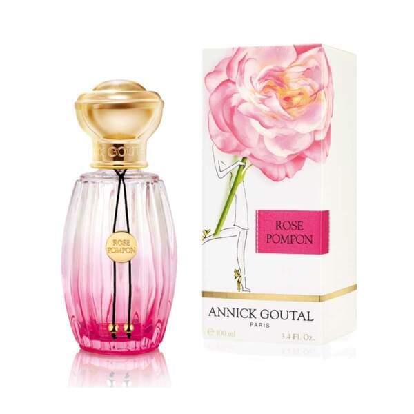 Rose Pompon (100 ml 110 €) de Annick Goutal Paris