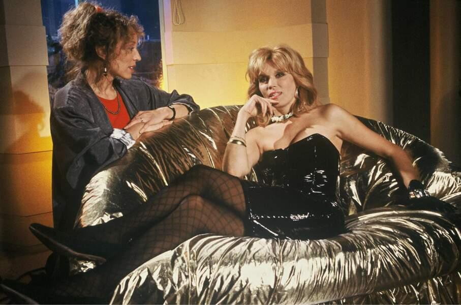 Interviewée par Mireille Dumas, en 1988.