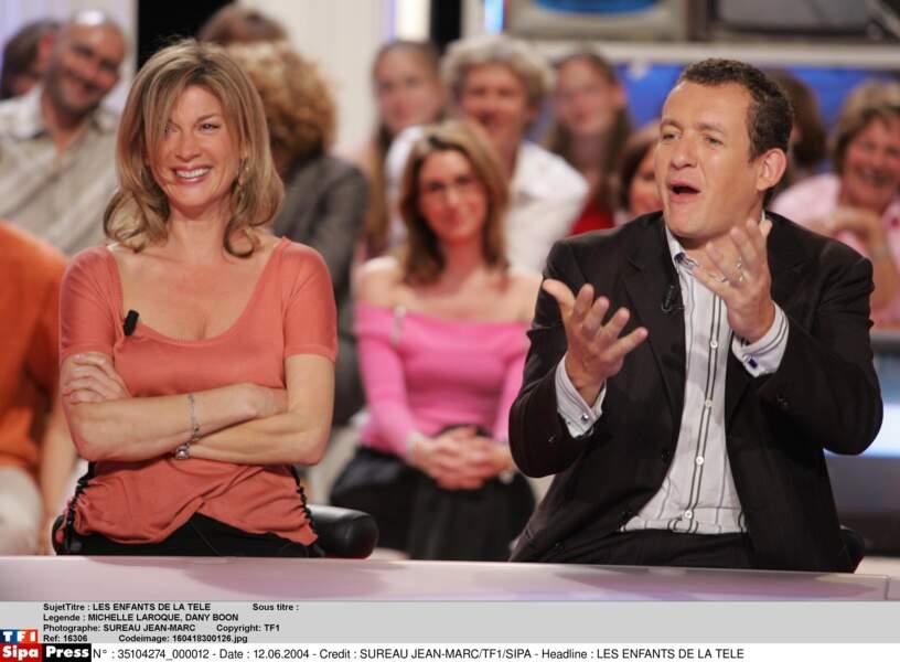 En 2004, Dany Boon et Michèle Laroque se donnent la réplique dans Pédale Dure