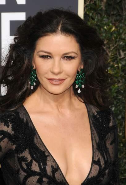 L'envoûtante chevelure de Catherine Zeta-Jones nous laisse sans voix...