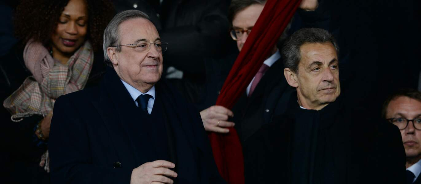 Fiorentino Perez et Nicolas Sarkozy
