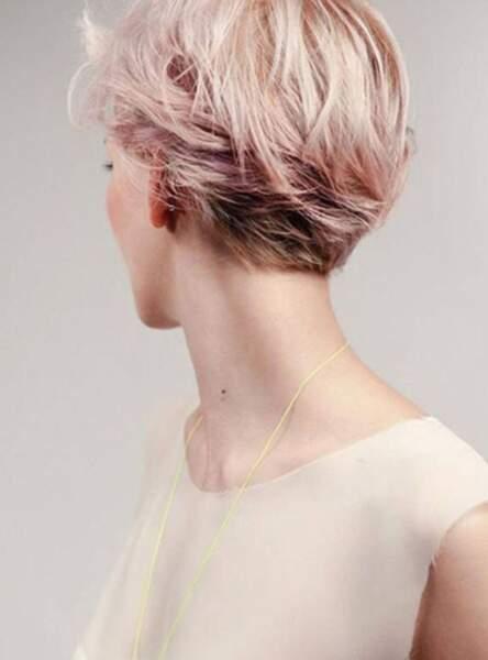 Un blond rose