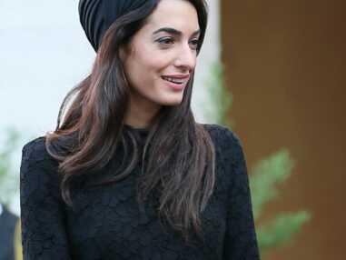 Amal Clooney, tête à turban