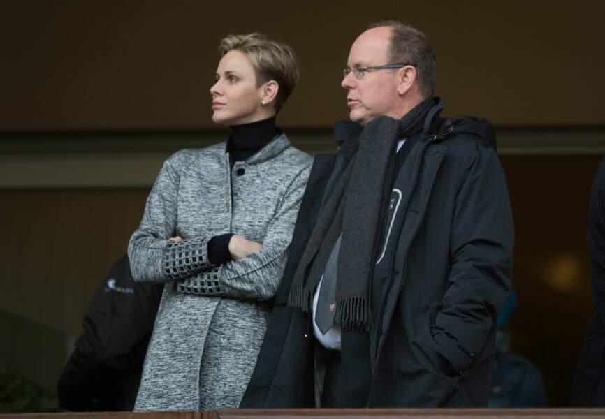 Charlene et Albert de Monaco étaient venus y remettre la coupe au vainqueur du tournoi