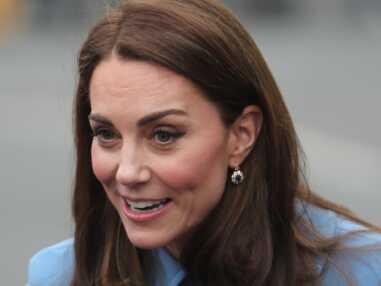 PHOTOS - Kate Middleton sublime en manteau bleu : découvrez à quelle célèbre nounou la compare la presse anglaise