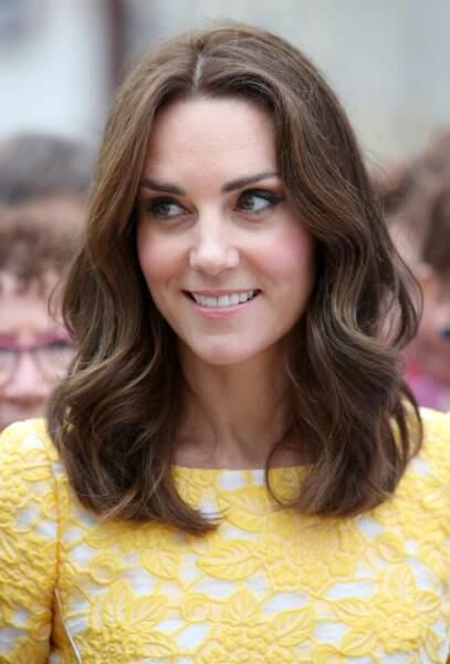 Kate Middleton soigne tout particulièrement sa chevelure et a opté pour une coloration naturelle et ensoleillée
