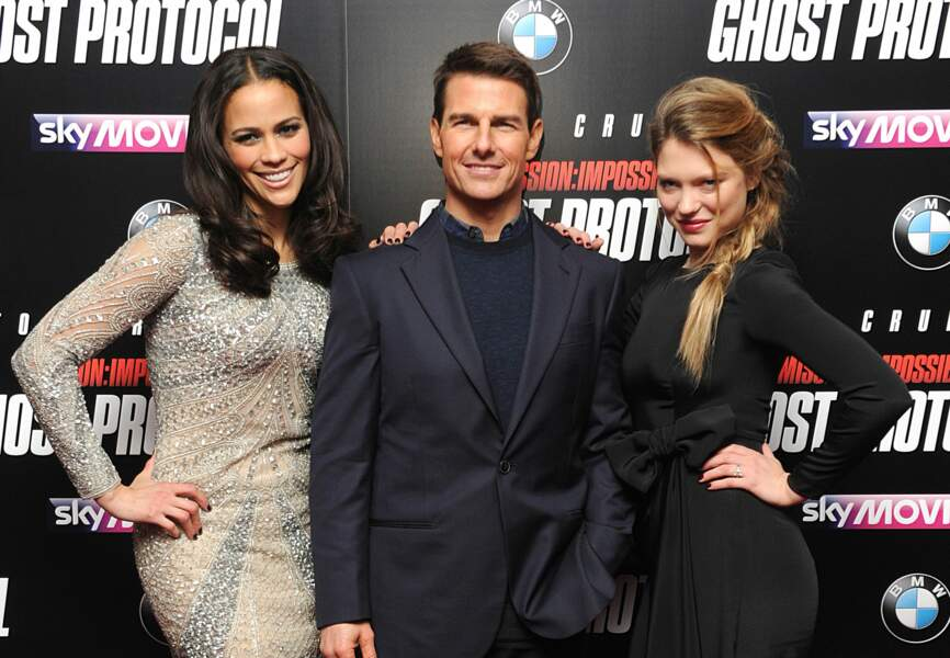 Tom Cruise, Paula Patton et Léa Seydoux