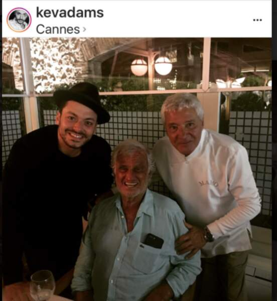 Kev Adams et Jean-Paul Belmondo