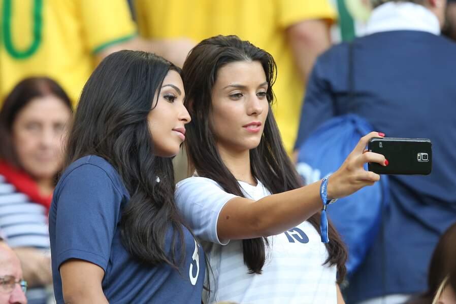 Ludivine Sagna et Majda Sakho sont très amies.