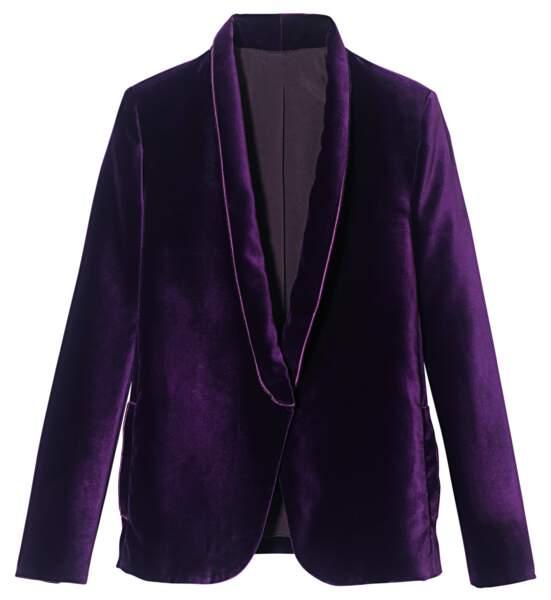Veste en coton velours, 490 €, Longchamp.