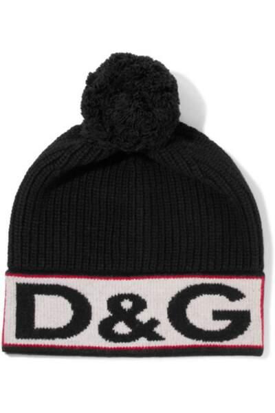 Bonnet en laine mélangée, Dolce & Gabbana - 195 euros