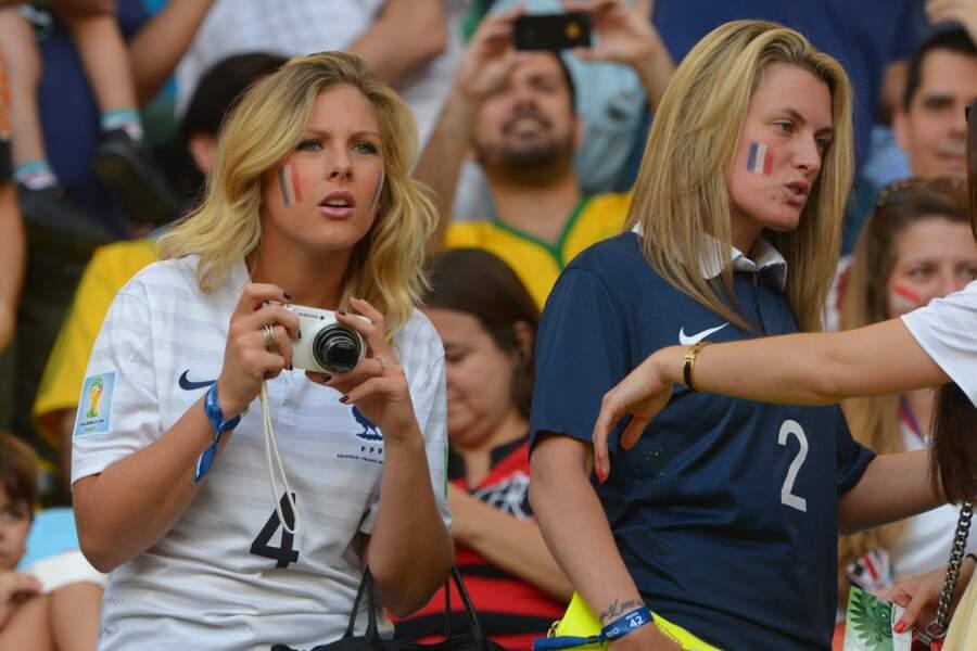 Camille Tytgat et Ludivine Debuchy lors du Mondial 2014.