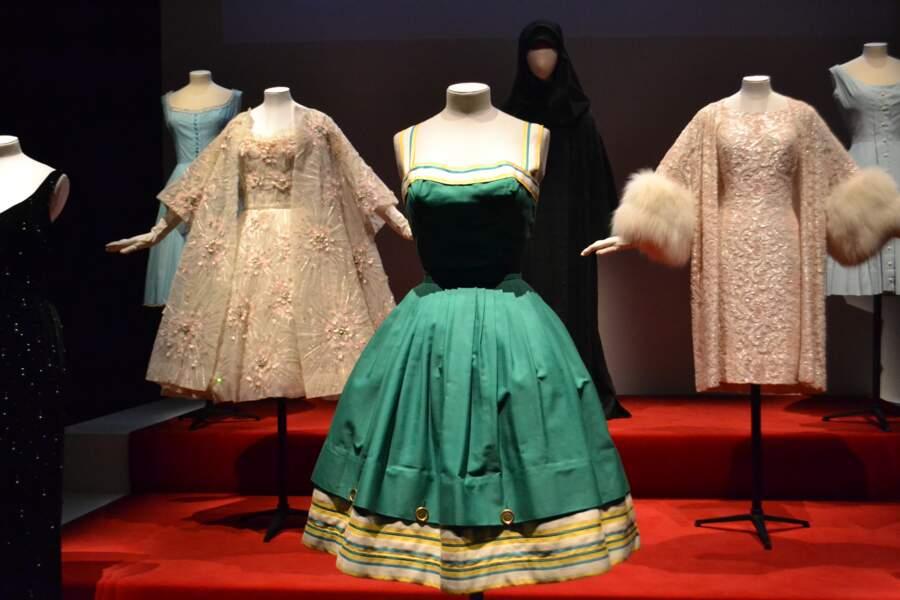 Une robe émeraude pour le cinéma