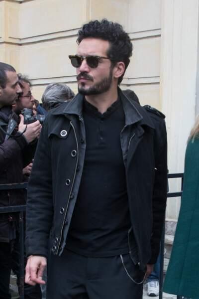 Bastien Burger, le compagnon d'Izïa Higelin le 12 avril dernier à Paris