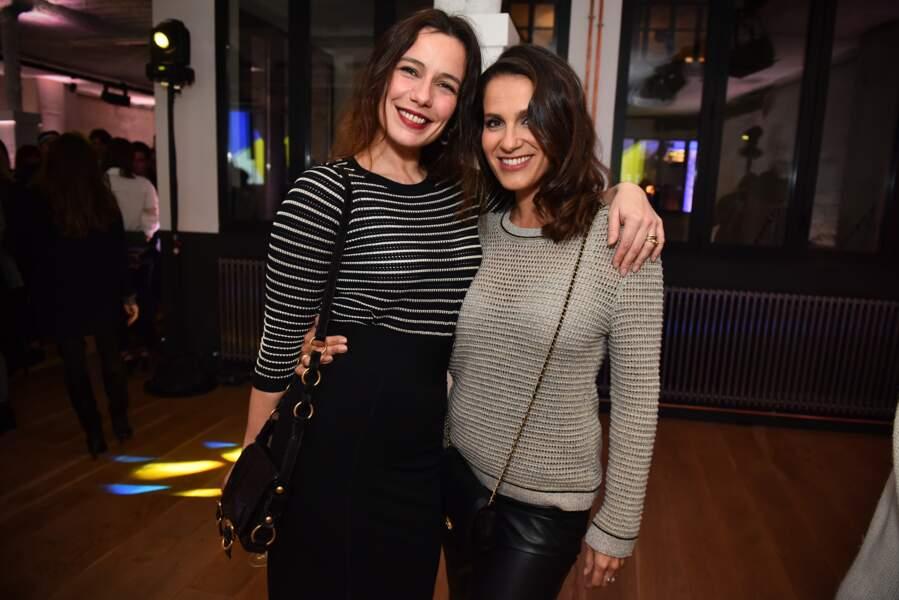 les actrices Zoë Félix et Elisa Tovati