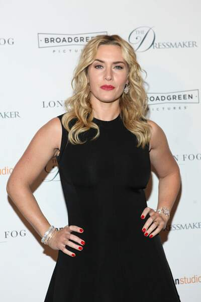Kate Winslet, on l'a connue rousse mais on l'aime blonde !