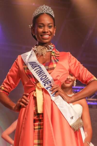Olivia Luscap, 18 ans, a été sacrée Miss Martinique et tentera de devenir Miss France 2019