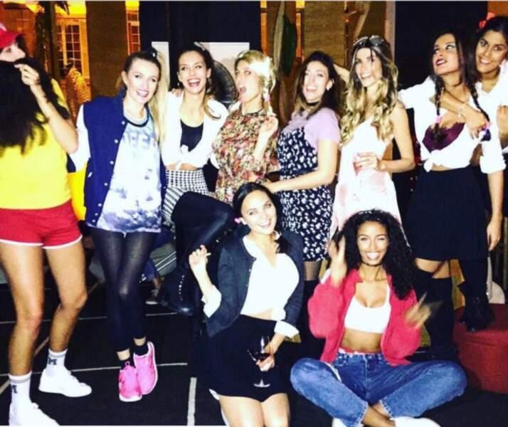 Alexandra Rosenfeld et ses copines anciennes Miss