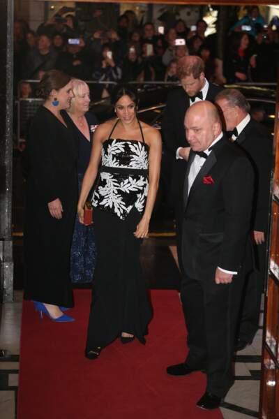 Une arrivée sur le tapis rouge remarquée pour la duchesse...