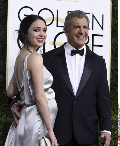Rosalind Ross et son époux Mel Gibson