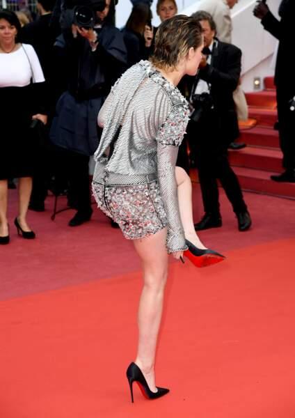 Kristen Stewart sans escarpins