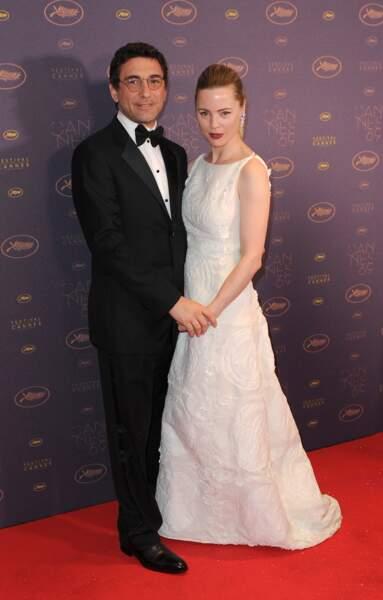 Melissa George et Jean David Blanc 69ème Festival International du Film. 69th Cannes Film festival.