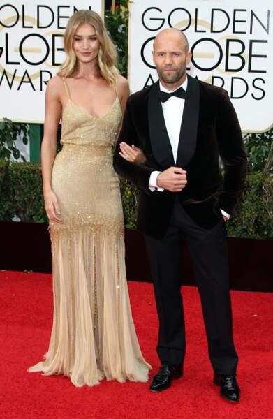 Jason Statham et Rosie Huntington-Whiteley ont dit en janvier devoir se marier dans l'année. Peut-être en secret ?