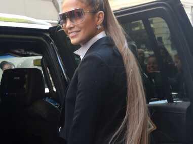 PHOTOS - Jennifer Lopez incroyable avec une queue de cheval xxl à New York