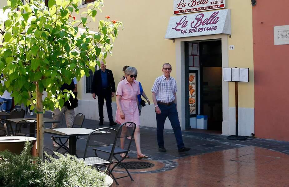 Ils sont dans les rues de Desenzano del Garda