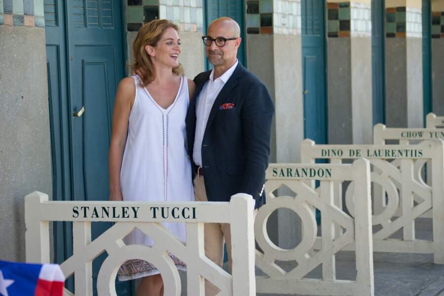 Stanley Tucci et son épouse Felicity Blunt