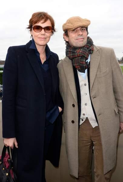 Frédéric Taddeï et sa femme Claire Nebout